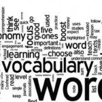 英単語を覚える順番について